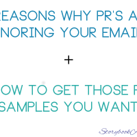 5 Reasons Why PR's Are Ignoring Your Emails + How To Get Those PR Samples You Want