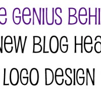 The Genius Behind My New Header & Logo Design!