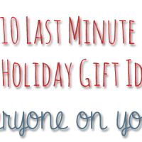 10 Last Minute DIY Gift Ideas