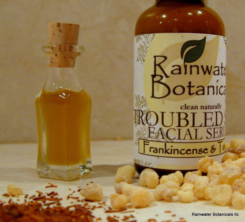 Troubled Skin Serum with Frankincense and Tamanu