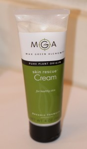 Another Amazing Product from Max Green Alchemy: Skin Rescue Cream