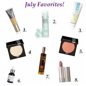 July Beauty Favorites!