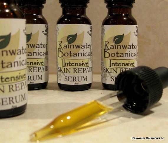 natural organic skincare, face serum
