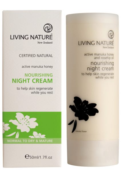 Living Nature Nourishing Night Cream Review