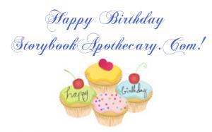 Happy Birthday Storybook Apothecary!