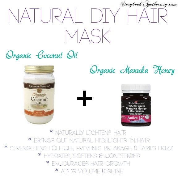 Dry Damaged Hair? Breakage, Split Ends, Loss of Volume? Try This Super Easy DIY Hair Mask Recipe!