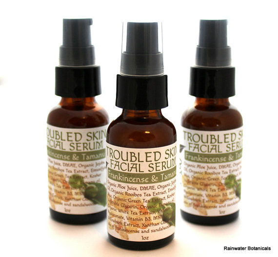 Rainwater Botanicals Troubled Skin Serum - My Top 5 Favorite Blemish Clearing Treatments for Acne Prone Sensitive Skin