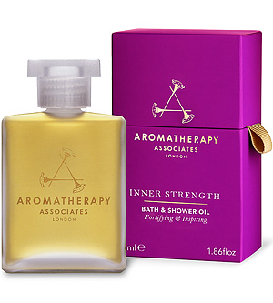 Luxe Relaxation: Aromatherapy Associates Inner Strength Bath and Shower Oil