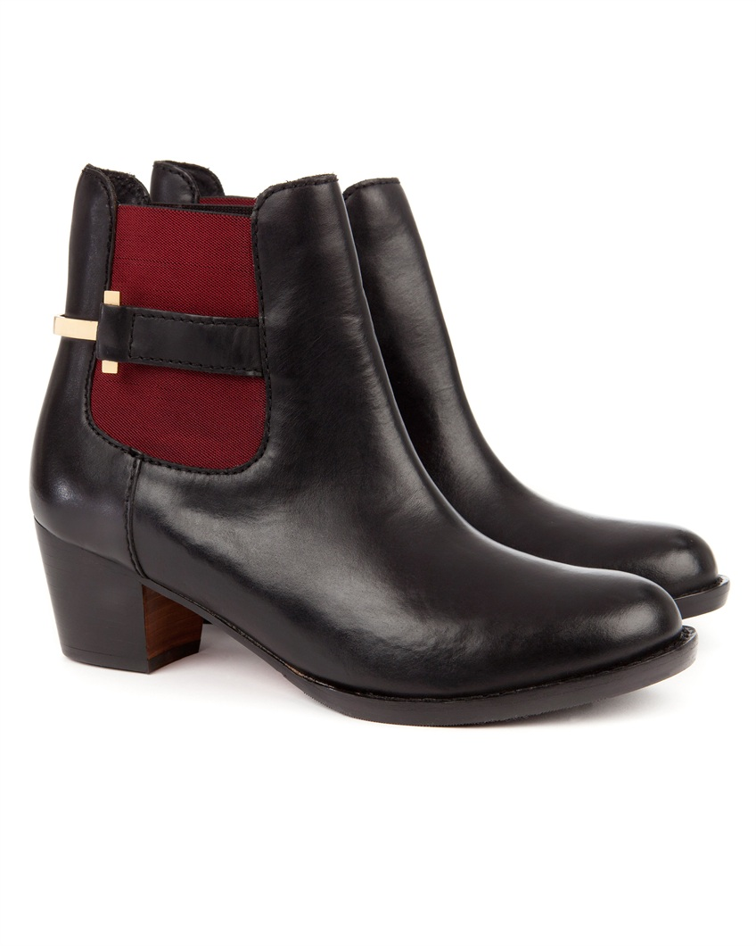 JUREO - Heeled ankle boot