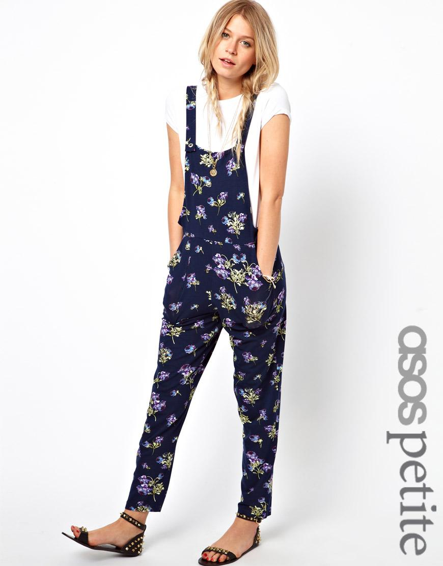ASOS Exclusive Floral Print Overalls
