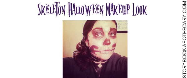 Halloween Beauty: Skeleton Makeup Look