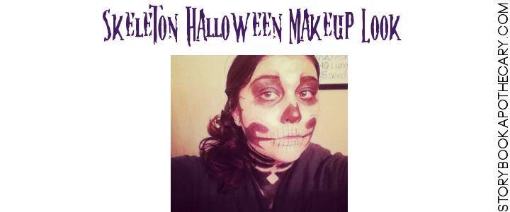SkeletonMakeupLook_Halloween_StorybookApothecary.com_2013