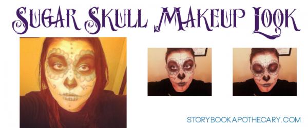 Sugar Skull Calavera Dia de Los Muertos / Halloween Makeup Look