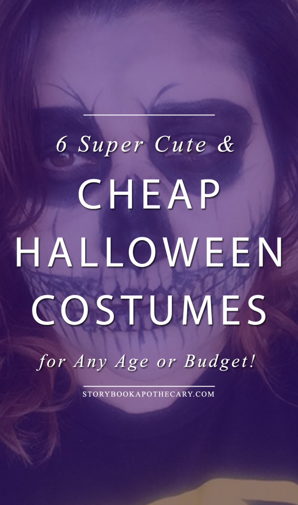 6 Super Cute and Cheap Halloween Costume Ideas