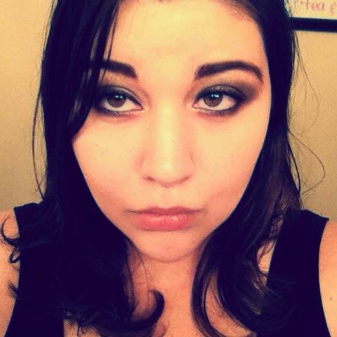 Vamp Makeup Look