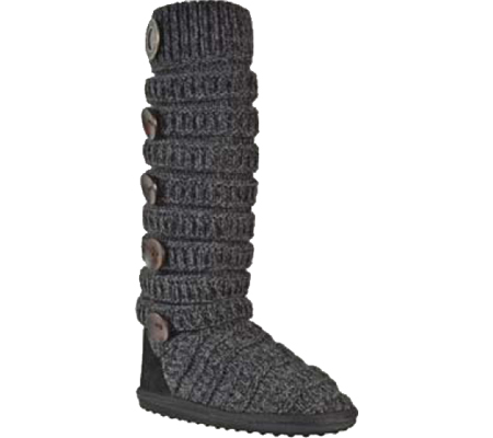 MUK LUKS - Miranda Sock Boots in Ebony