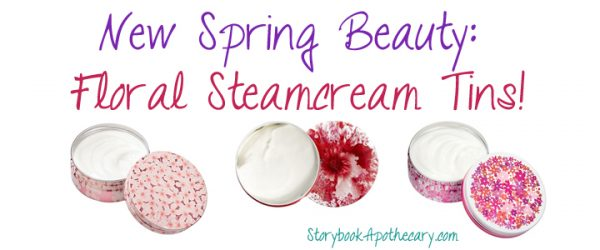 NEW In Beauty: Lovely Floral Steamcreams!