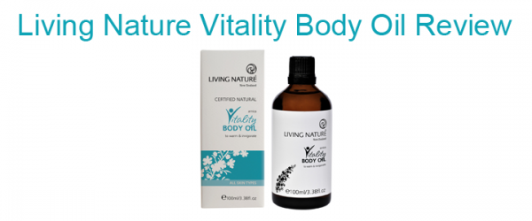 Living Nature Vitality Body Oil Review