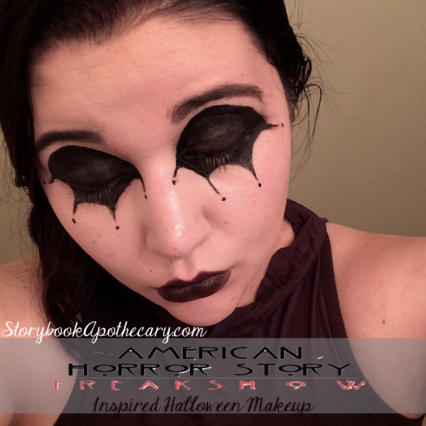 american horror story mime makeup