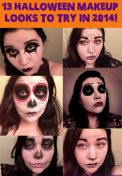 13 Halloween Makeup Looks to Try in 2014!