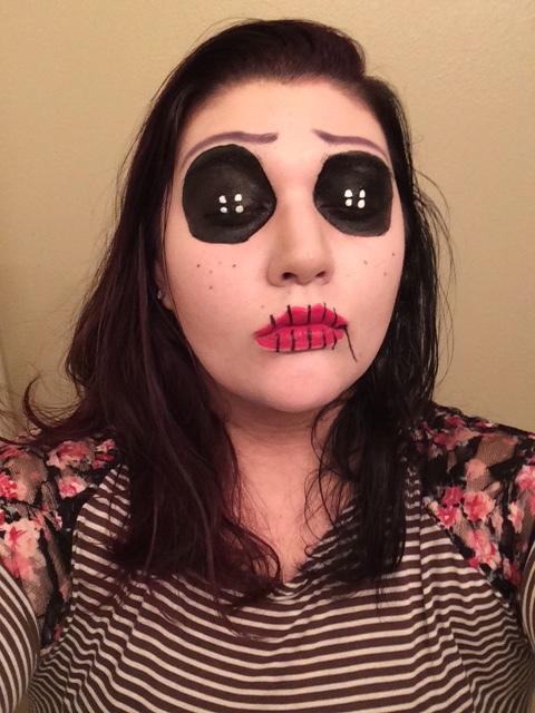 Creepy Other Coraline Makeup for Halloween - Halloween Makeup Guide