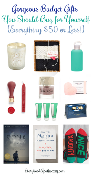 Check out these Gorgeous Budget Gifts for Yourself (or someone special!)
