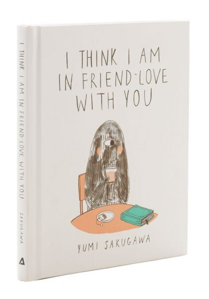 I think I am in friend-love with you book