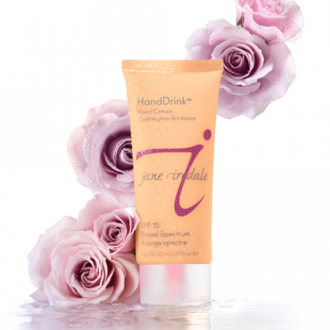 Coming Up Roses: NEW Jane Iredale HandDrink Hand Cream