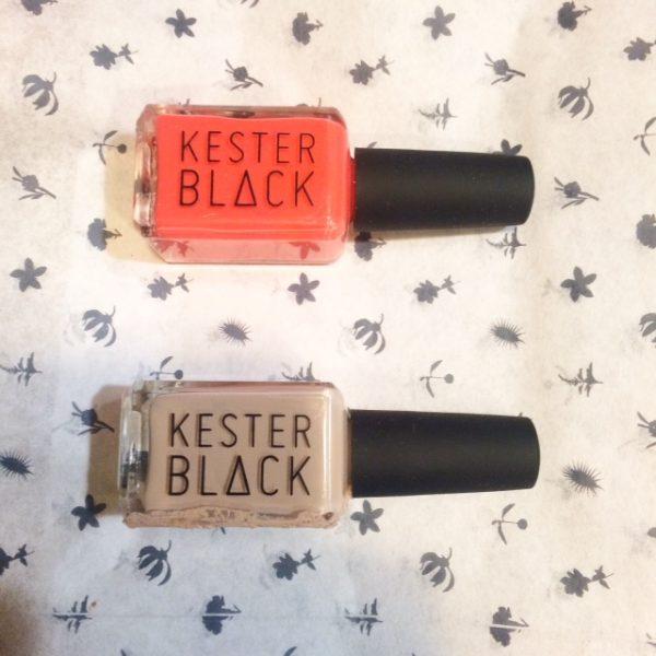 Kester Black Natural Nail Polish Review