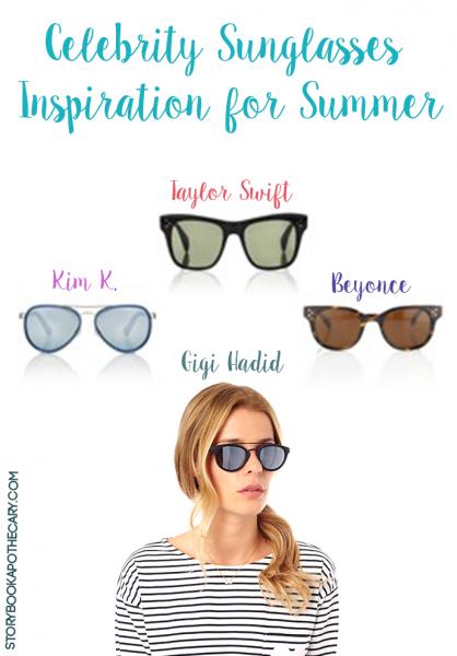 Celebrity Sunglasses Inspiration for Summer