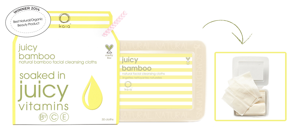 Kaia Naturals Face Wipes