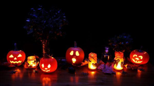 pumpkins - jack-o-lanterns