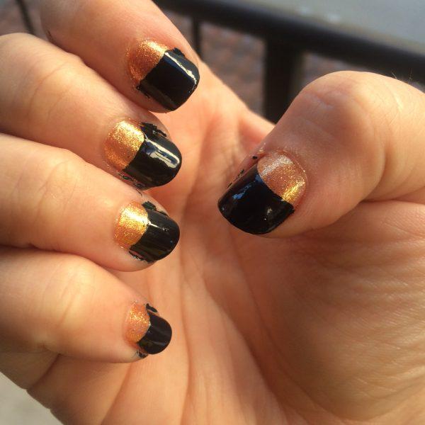 zoya nail polish tanzy halloween nails non toxic nails green beauty
