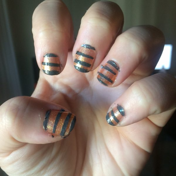 Non-Toxic Halloween Nails