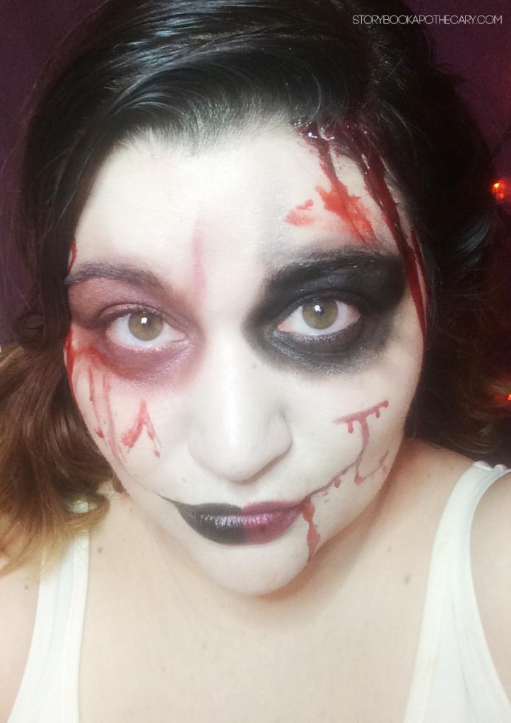 harley_quinn_makeup_ halloween