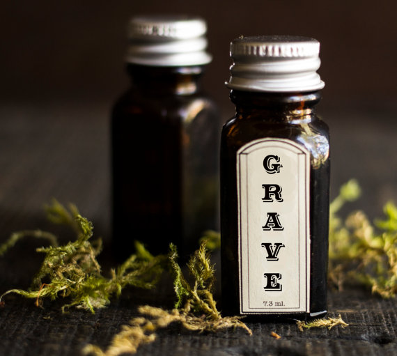 grave perfume oil