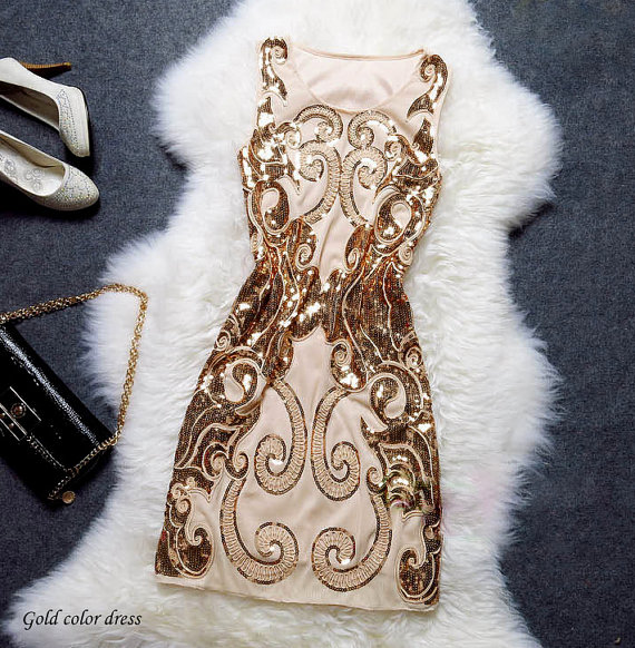 great gatsby 1920s dress gold dress costume