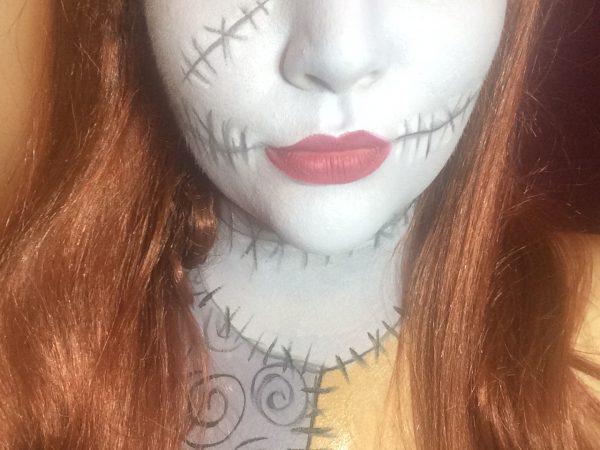Nightmare Before Christmas | Sally Halloween Makeup Look