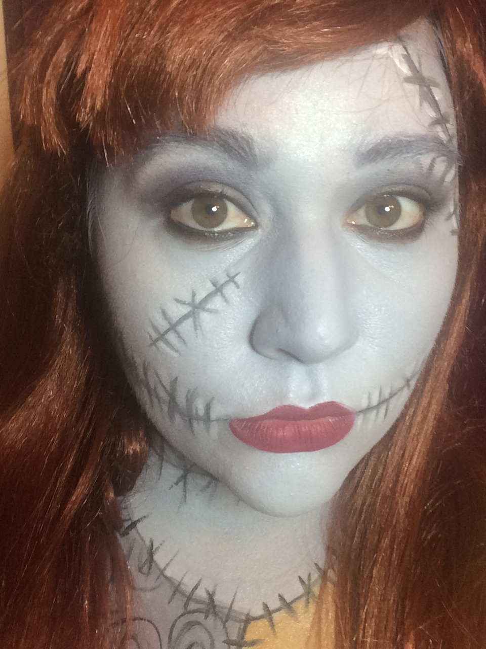 Sally Halloween Makeup Look Storybook Apothecary