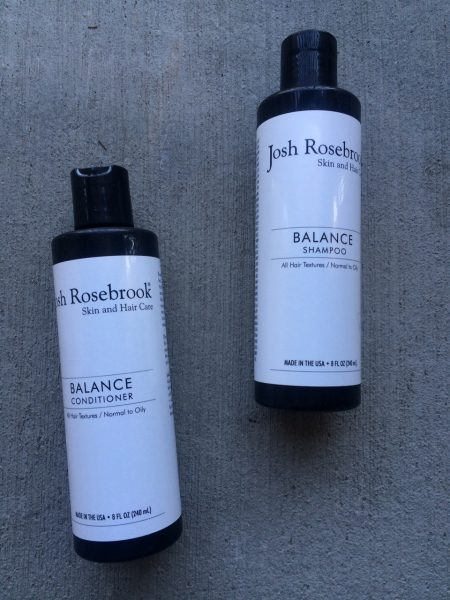 Josh Rosebrook BALANCE Hair Care Review