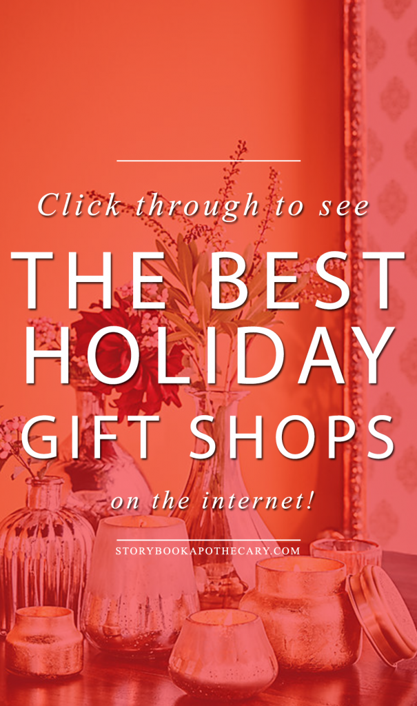Click through to see the Best Holiday Gift Shops on the internet!