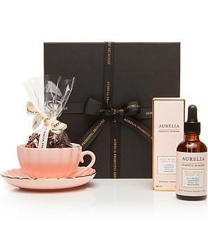 aurelia skincare gift set - green beauty gift guide