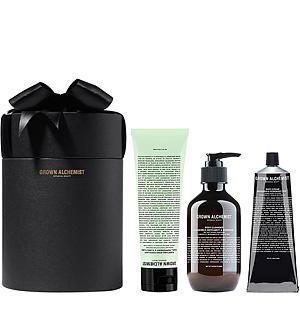 grown alchemist gift set - green beauty gift guide