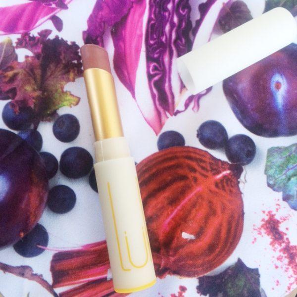 luk beautifood lip nourish in tea rose