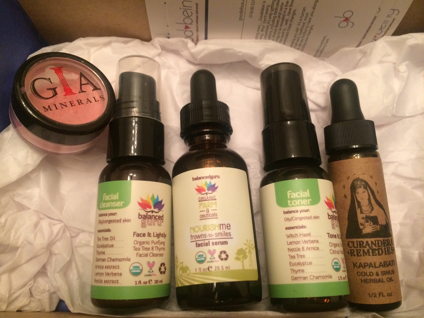 goodbeing box review january 2016