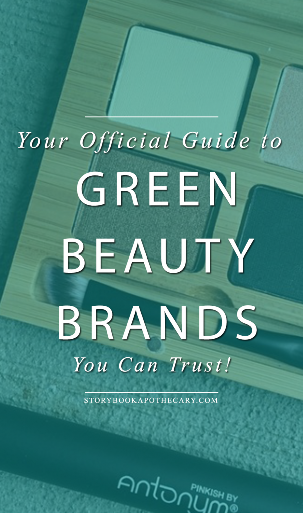 Your Official Guide to Green Beauty Brands You Can Trust - There are a ton of brands out there that claim to be all natural, organic, vegan, cruelty-free, etc. that really aren't. Here's a comprehensive list of what's safe to use and which brands you can trust to make safe beauty products!