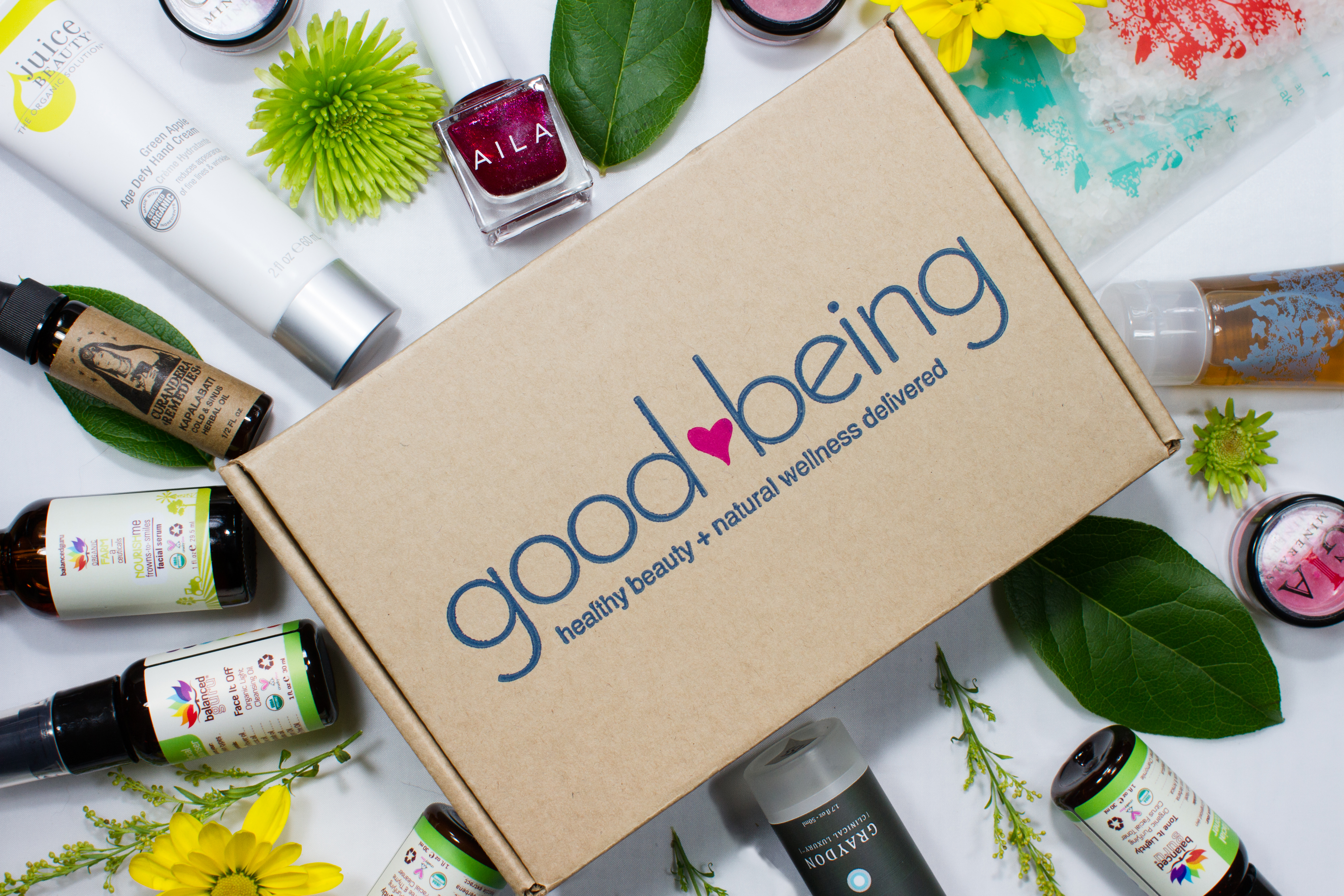 GoodBeing Natural Beauty Subscription Box - Want to know which natural beauty brands are effective, clean, eco-friendly, cruelty-free, vegan, and manufactured ethically? Click Through to Get Access to Your Official Guide to Green Beauty Brands You Can Trust!