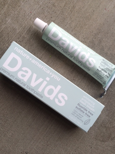 davids all natural toothpaste review