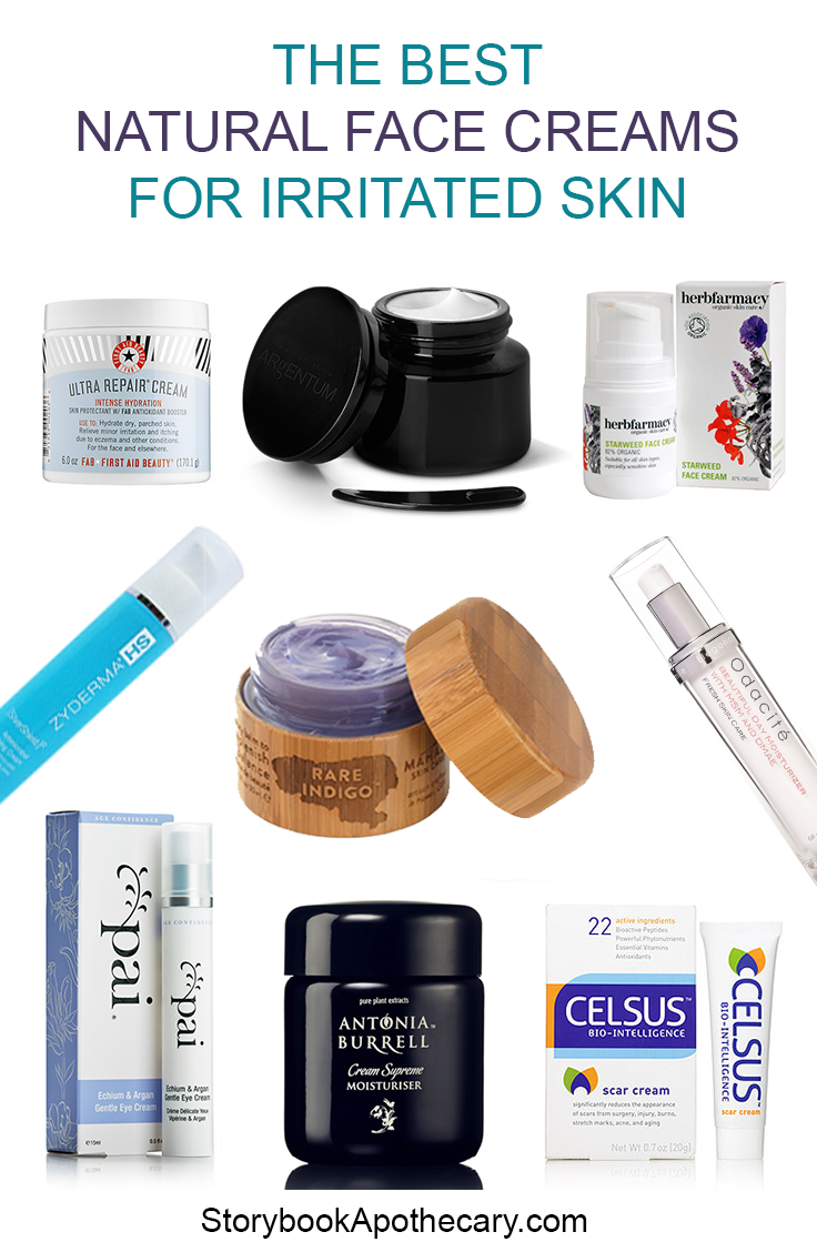 the best natural face creams for irritated skin