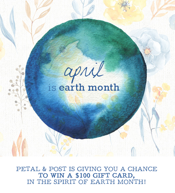 Earth-Month - petal and post